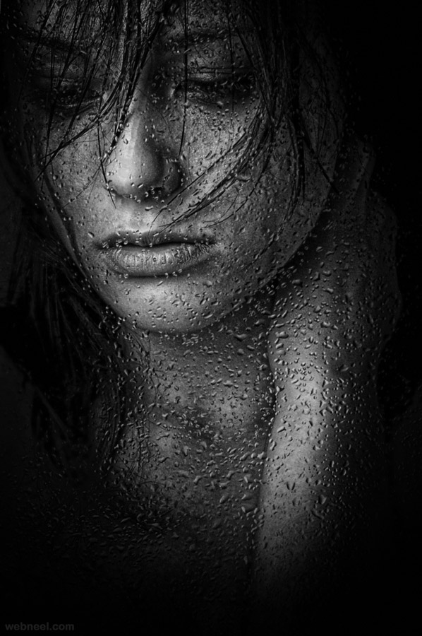 9-rain-drops-bw-photography